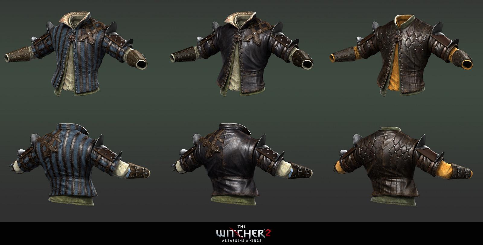 Witcher 2 Armors 3 By Scratcherpen On Deviantart
