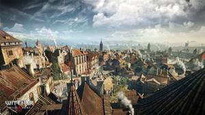 The Witcher 3 Wild Hunt the city of Novigrad