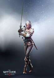 The Witcher 3 Wild Hunt-Ciri by Scratcherpen