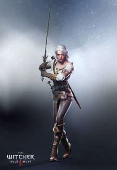 The Witcher 3 Wild Hunt-Ciri