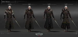 The Witcher 3 Wild Hunt-Bear armour HQ