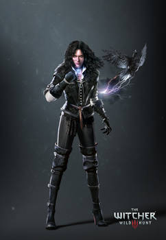 The Witcher 3 Yennefer render update