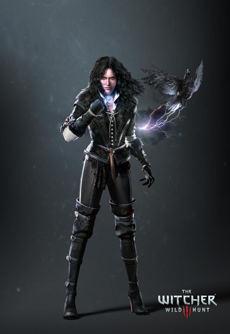 The Witcher 3 Yennefer render update by Scratcherpen