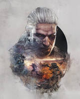 Witcher 3 steelbook No Man's Land version front by Scratcherpen