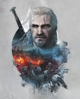 Witcher 3 steelbook Skellige version version front by Scratcherpen