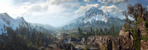 The Witcher 3 panorama Skellige