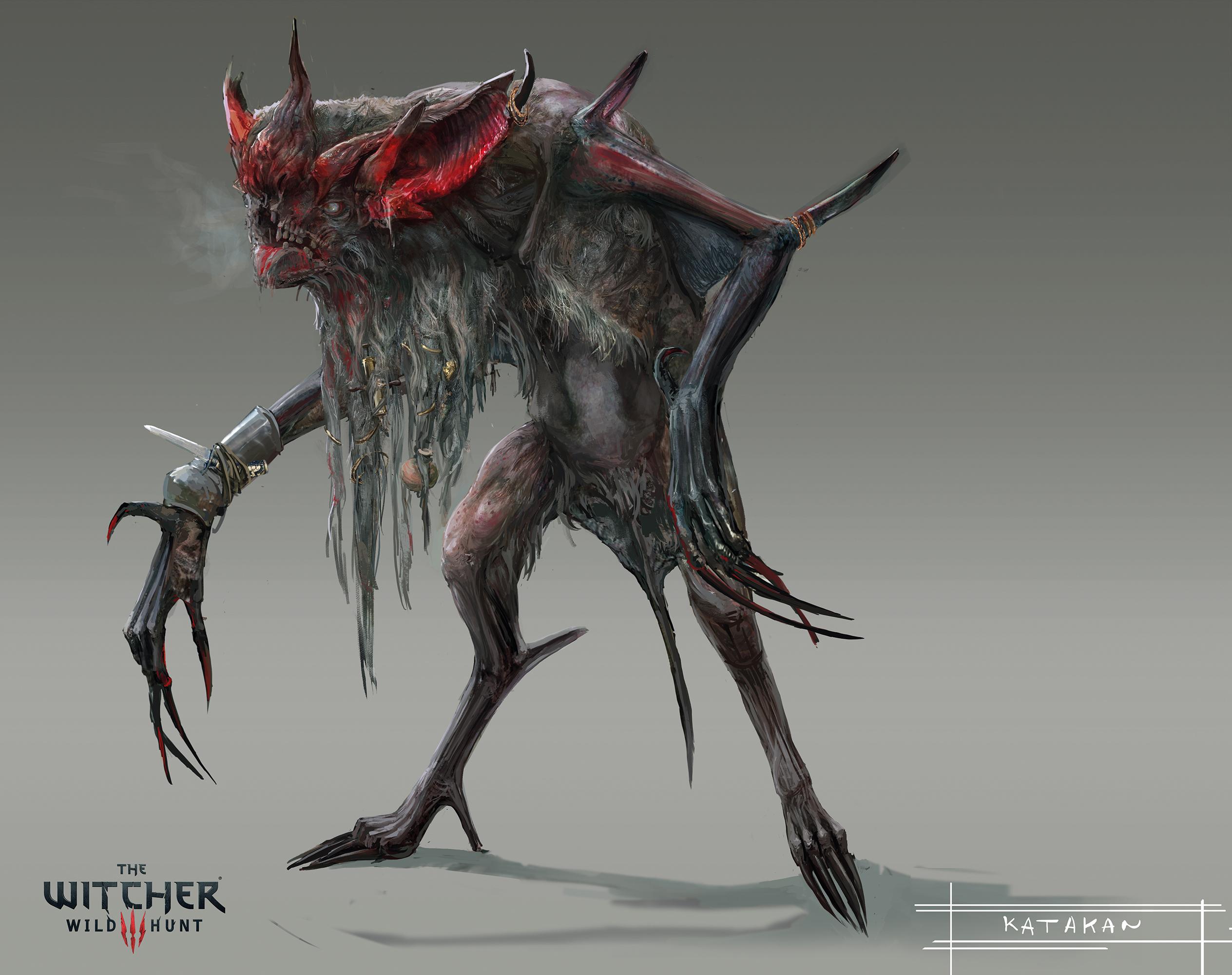 Fiend Witcher 3 17927 | PIXHD