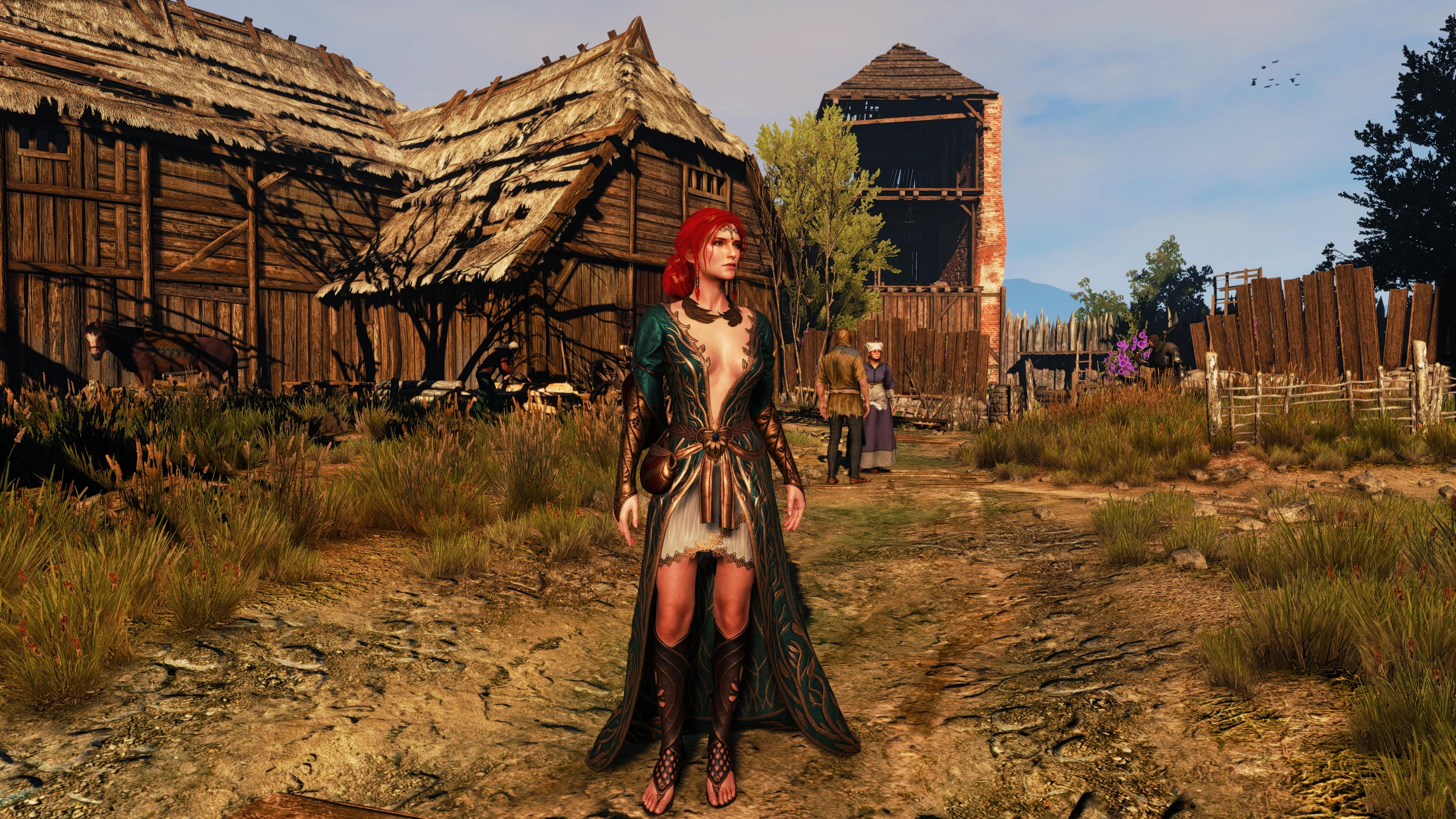 Witcher 3 Geralt And Ciri Proper 2560x1440 By Scratcherpen
