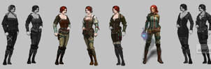 Early Triss Concept Art  5