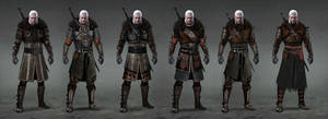 Tw3 Undvik armor concept art