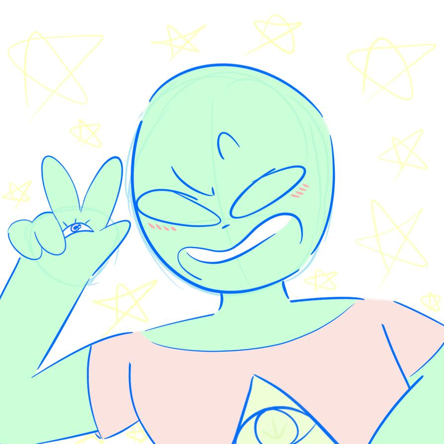 alien doodle by netflixandsapphire