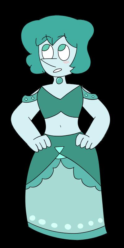 Turquoise Pearl by netflixandsapphire