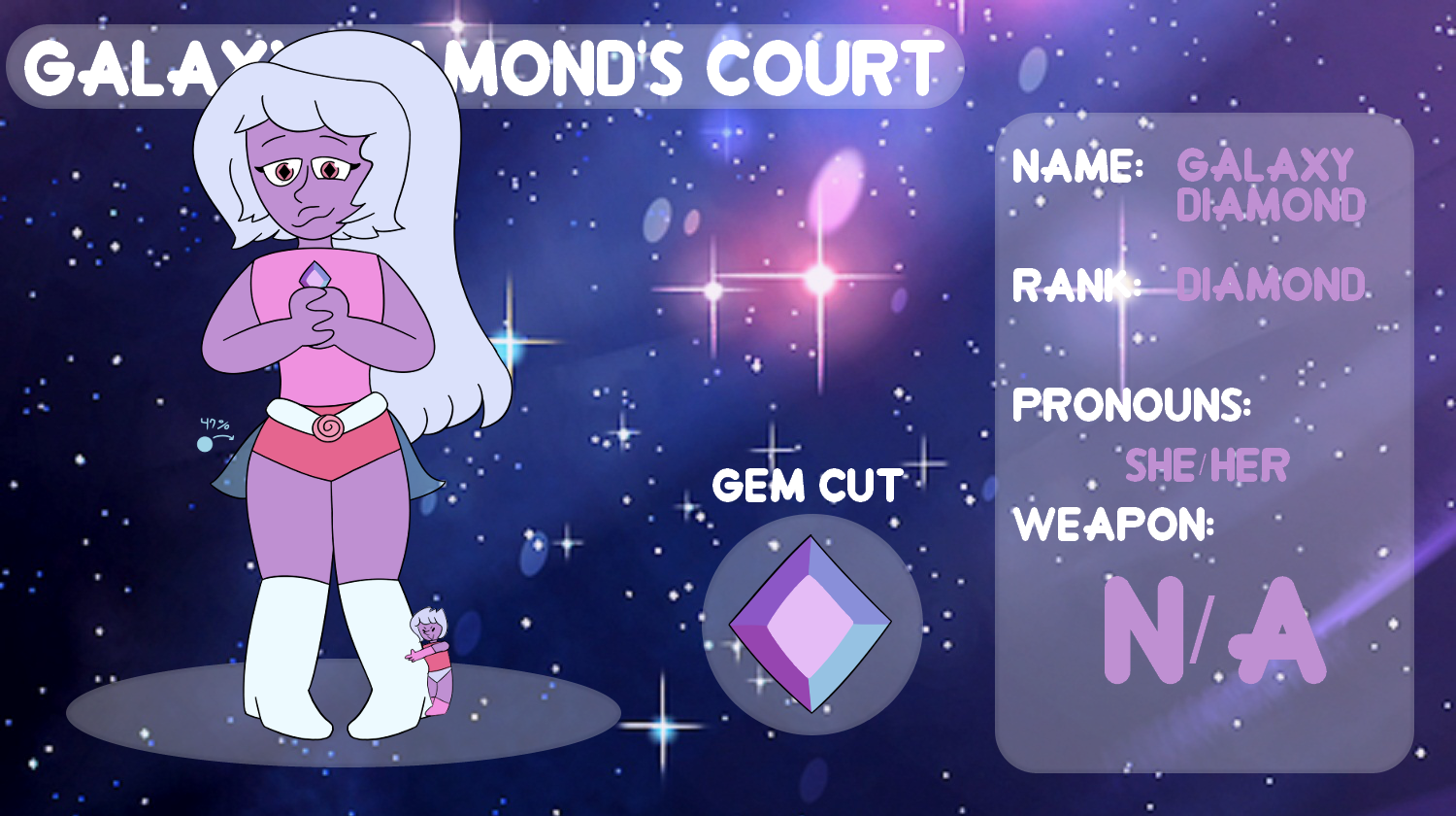 (OLD) OC Galaxy Diamond Court - Galaxy Diamond App by netflixandsapphire