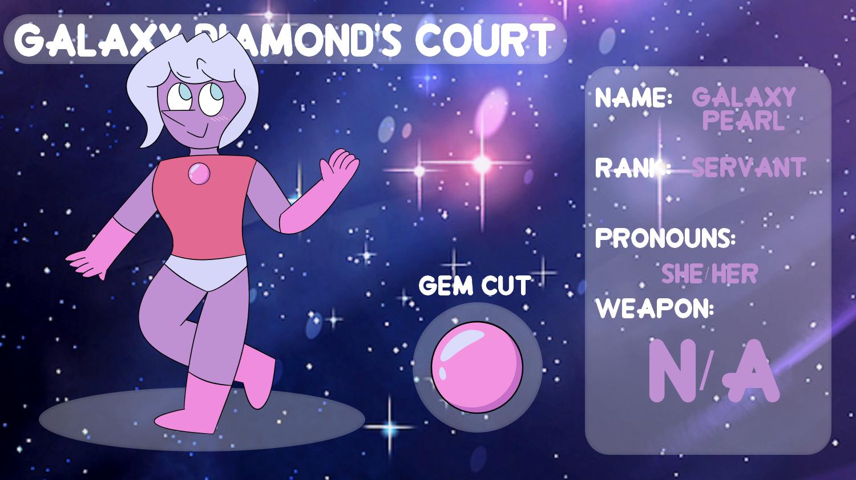 (OLD) OC Galaxy Diamond Court - Galaxy Pearl App by netflixandsapphire