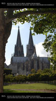 Cologne cathedral 11 by Mithgariel-stock