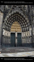Cologne cathedral 19 by Mithgariel-stock