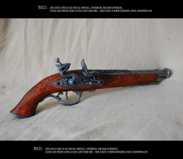 Old gun 2 by Mithgariel-stock
