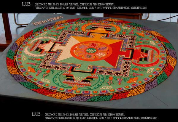 Mandala by Mithgariel-stock