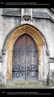 Old door 1 by Mithgariel-stock