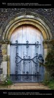 Old door 2 by Mithgariel-stock