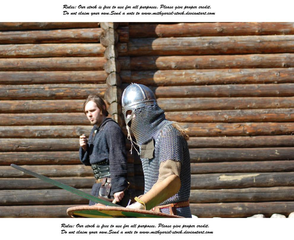 Vikings Do Battle (4) by Mithgariel-stock