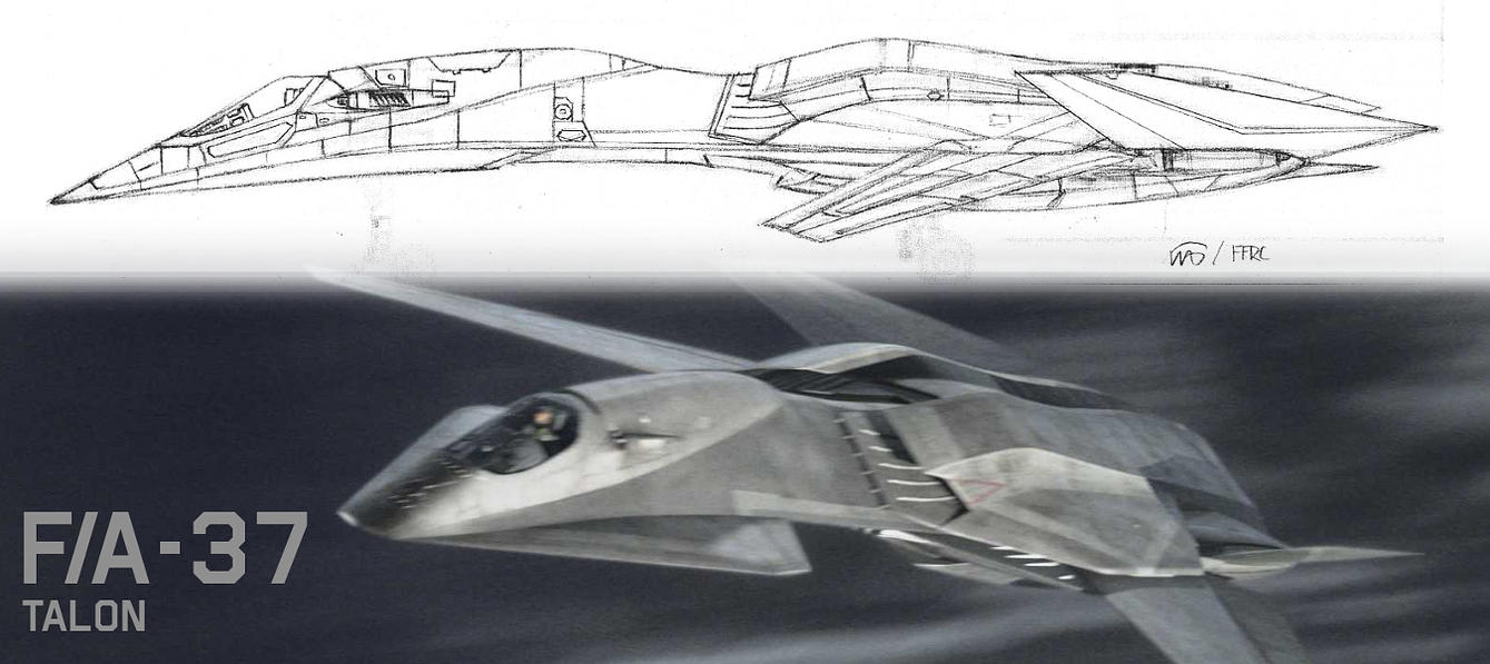 FA-37 TALON Profile V1.0 by fighterman35