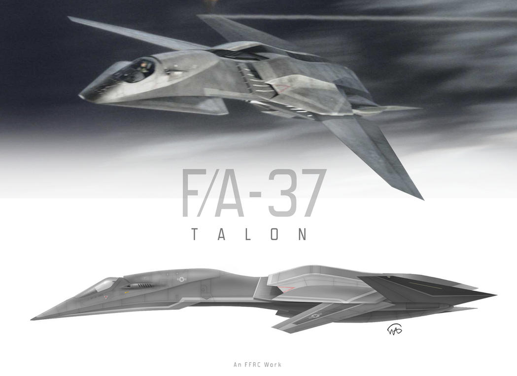 FA-37 TALON by fighterman35  F 37