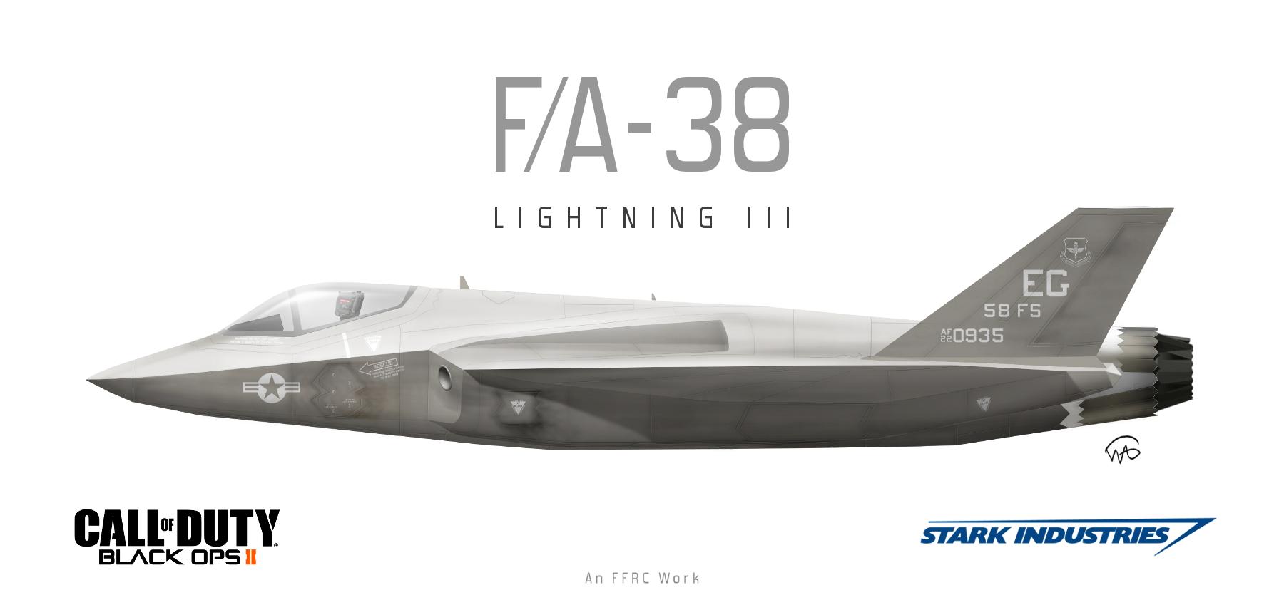 CoD Black Ops II FA 38 Lightning III By Fighterman35 On DeviantArt