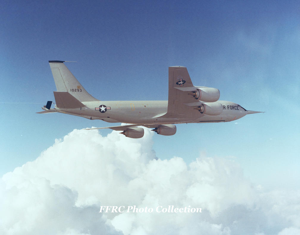 KC-135R prototype 61-0293, circa 1982 by fighterman35