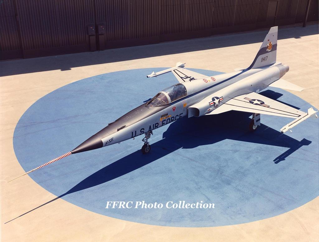 F-5E Tiger II Prototype 71-1417 by fighterman35