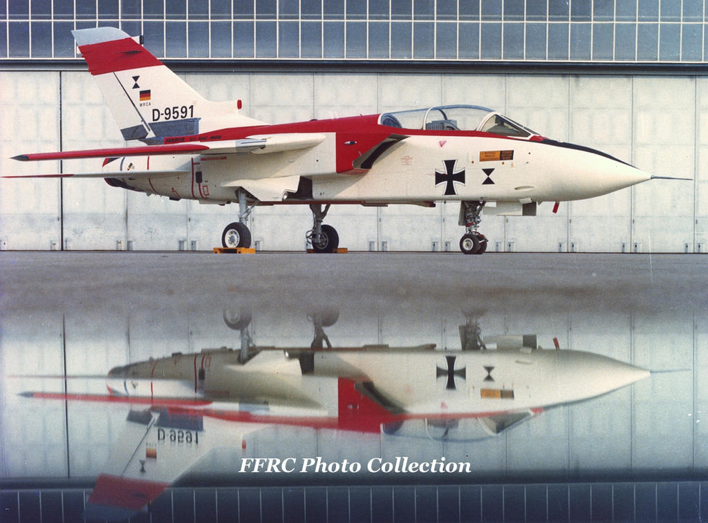 MRCA Tornado Prototype P.01 D-9591 by fighterman35