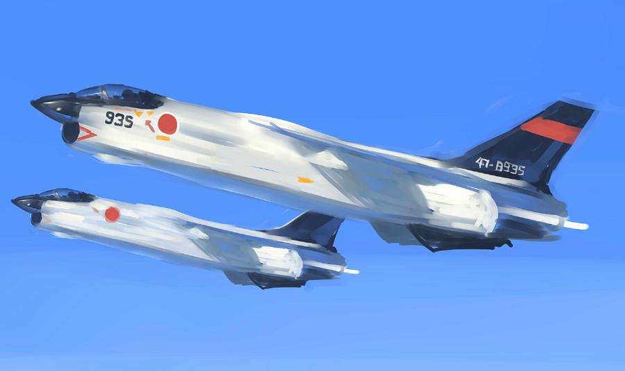 F-8EJ by fighterman35