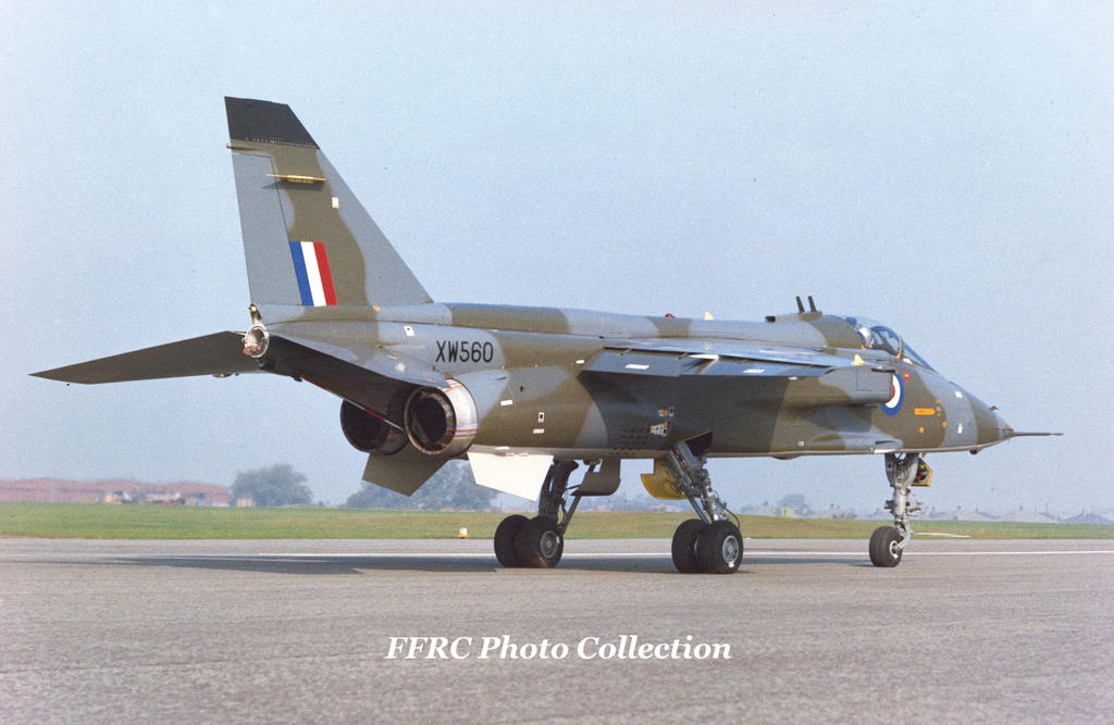 First British Jaguar S prototype XW560 at Warton by fighterman35
