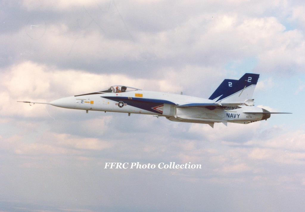 F-18 FSD#2 BuNo 160776, March 1979 by fighterman35