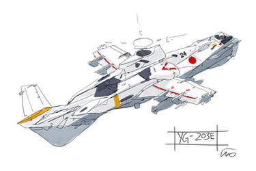 Yaegaki YG-203E by fighterman35