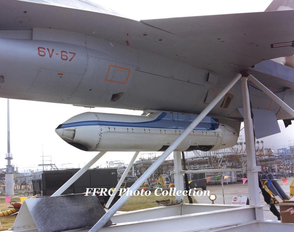 F-16A 80-0668  testing GPU-5/A 30mm gun pod by fighterman35