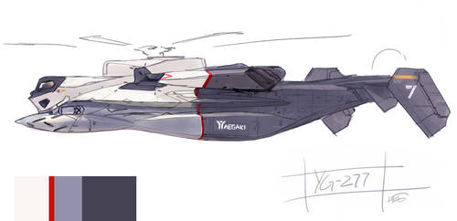 Yaegaki YG-277 FSD 7 by fighterman35