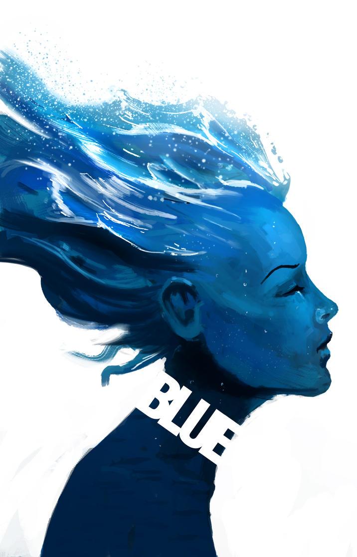 Blue by PointLineArea