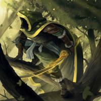 Shadow Runner by PointLineArea