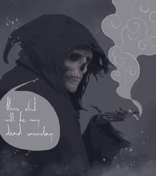 ...my dead someday
