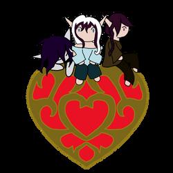 Happy Valentines from The Vespera-Blos'om siblings by DeitoninVespera