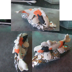 My First Polymer Clay Koi