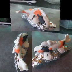 My First Polymer Clay Koi by DeitoninVespera
