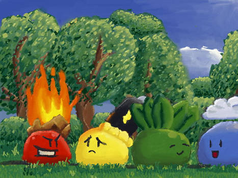 Slimes are Friends