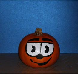 Cuphead/Pumpkin by LyndiaPinda