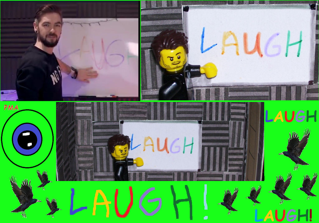 LAUGH!! by LyndiaPinda