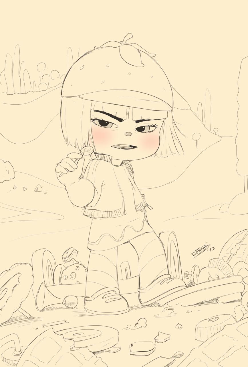 Taffyta Muttonfudge sketch by DFer32