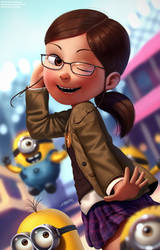 Margo and Minions