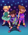 The Chipettes are back! (color)