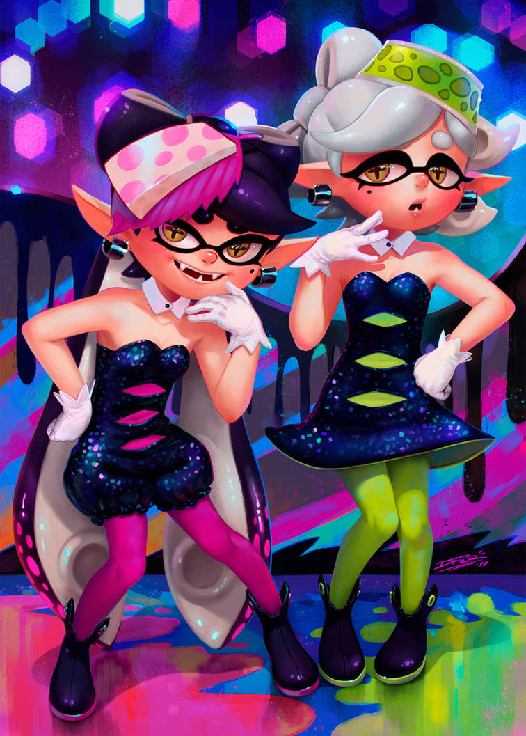 Squid Sisters by DFer32